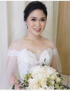 Rush sale!!! Wedding gown used last June 24, 2018.