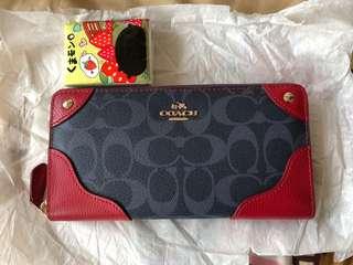 Coach 長銀包 long wallet