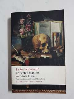 Collecred Maxima and Other Reflections (La Rochefoucauld)