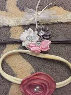Newborn baby girl headband