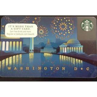 Starbucks Card- DC 2014