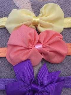 Colorful baby girl headband