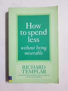 How to spend less (Richard Templar)