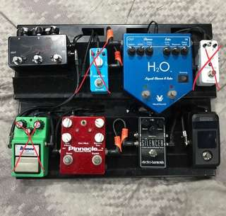 Pedal clearance