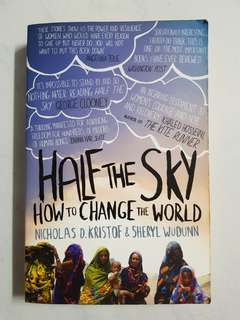 Half The Sky: How to Change the World (Nicholas D Kristof, Sheryl WuDunn)