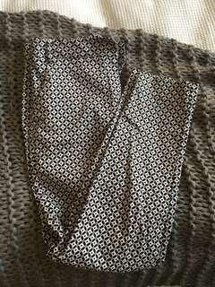 3/4 Pattern Work Pants