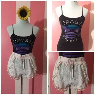 SET! Cotton On Shorts and Aeropostale Top