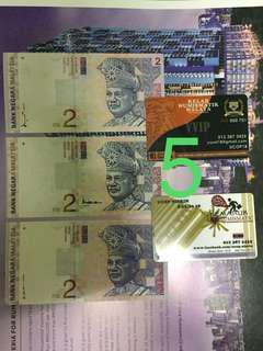 RM2 x 3pcs