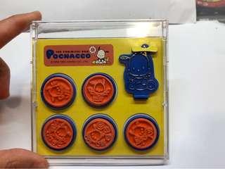 (絕版)Sanrio Pochacco PC 狗印章