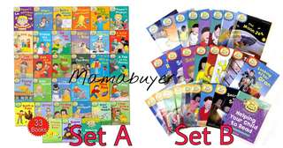 Oxford reading tree stage 1-3/4-6