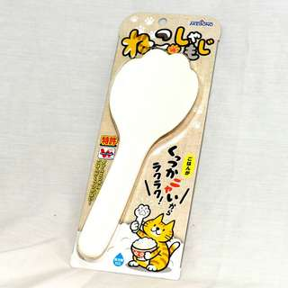 日本製AKEBONO貓掌飯匙 (白色)