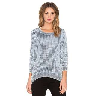 Solid Cotton Loose Knit Sweater 1192151 WCM