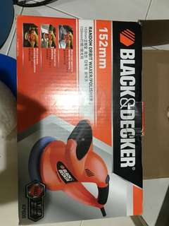 black & decker waxer/polisher