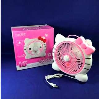 HK MINI ELECTRIC FAN (PINK) SL 202