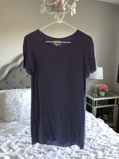 Wilfred Lavender Mini Dress (Worn 2 Times)