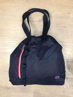 Champion portable 3 ways bag ~shoulder/handy/drawsting backpack (Europe version)