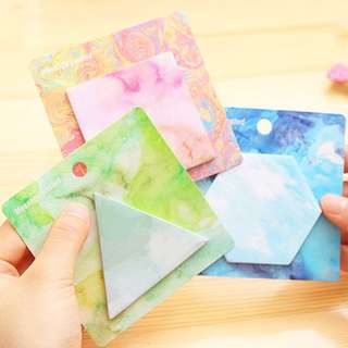 🌟BN INSTOCKS Dreamy Water Color Sticky Post-Its Memo Pads