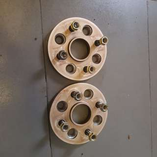 15mm spacer PCD 4×100