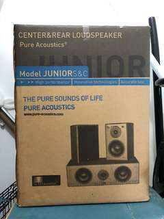 Pure Acoustics Speakers