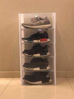 nmd Transparent stackbox shoebox heels adidas nike