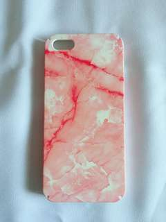 iPhone 5/5s Red Marble Case