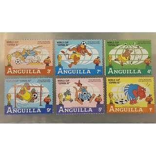 ANGUILLA郵票(10)