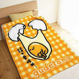 Gudetama Soft Blanket Warmer Blanket