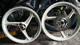 Sport Rim 3 Batang Enkei Ori Moto