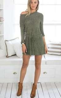 Knitted Mini Dress 703 JPN*ready stock*