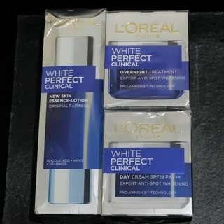 NEW L'Oréal Paris White Perfect Clinical Series
