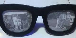 Picture frame sunglasses