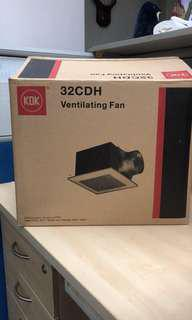 🚚 KDK Ventilation fan 32CDH (Price reduced)