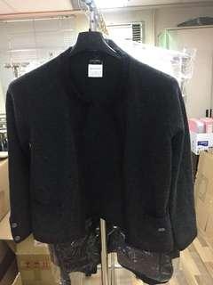 Chanel cardigan cashmere top Sz 38