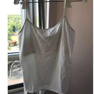 American Eagle Outfitters white tank top size XL