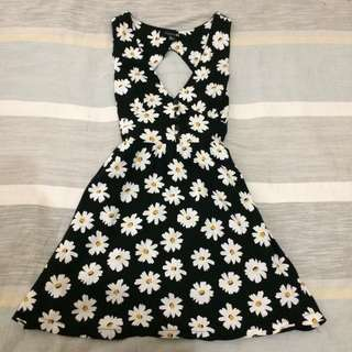 forever 21 floral daisy dress