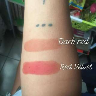 Lip and Cheek Tint, Lip Balm and Clay Blush