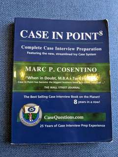 Case in Point by Marc Cosentino (complete case interview preparation)
