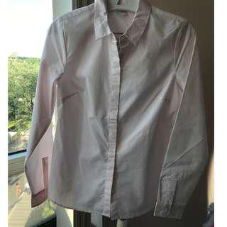 Reitmans pink dress shirt, brand new, size XS