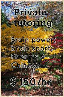 Private tutoring
