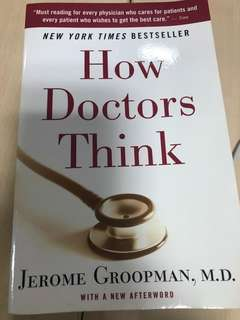 how doctors think - book