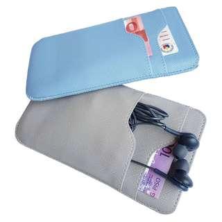 Pocket Leather Phone Sleeve