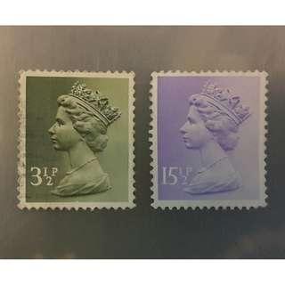 伊麗莎白郵票(8)