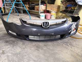 Honda Civic FD BUMPER WITH RADIATOR GRILLE AND FOG LAMP