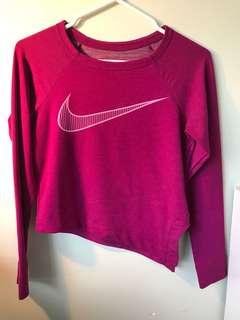 Nike purple training top
