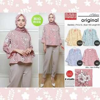 atasan murah blouse muslim