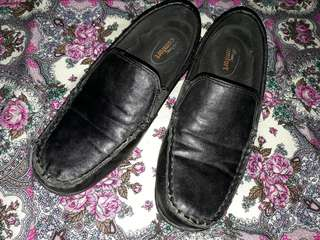 Fr Payless: Black Topsider Ofc/School Shoes size 7