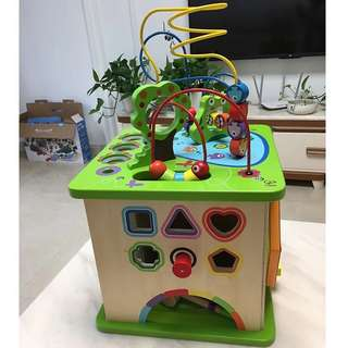Hape, Country Critters Play Cube