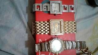 Jam tangan bonia ,omega,guess