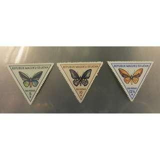 republik maluku selatan郵票(3) POS POSTAGE