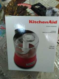 Kitchen aid penggiling daging, bawang, dll.